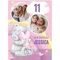 Cute Tatty Teddy Birthday Card - Niece Photo Upload, Large Size By Moonpig