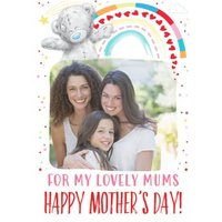 For My Lovely Mums Lesbian Couple LGBTQ+ Happy Mothers Day Card, Standard Size By Moonpig