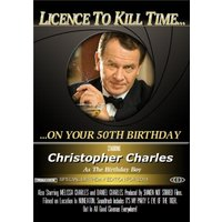 License To Kill Time Movie Personalised Photo Upload Birthday Card, Giant Size By Moonpig