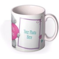 Valentine's Day Tatty Teddy Heart Photo Upload Mug by Moonpig, Gift Set - Delivery Available