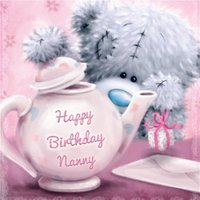 Nanny Birthday Card, Large Square Card Size By Moonpig