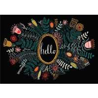 Gorgeous Flowers Hello Card, Giant Size By Moonpig