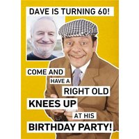 Only Fools And Horses Photo Upload Birthday Party Invitation, Standard Size By Moonpig