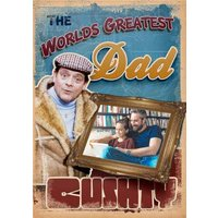 Only Fools And Horses World's Greatest Dad Photo Card, Standard Size By Moonpig