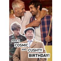 Only Fools And Horses Photo Upload Cushty Birthday Card, Large Size By Moonpig