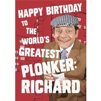 Only Fools And Horses Happy Birthday To The World's Greatest Plonker, Large Size By Moonpig