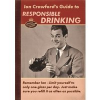 Responsible Drinking Birthday Card - Personalised Card, Standard Size By Moonpig