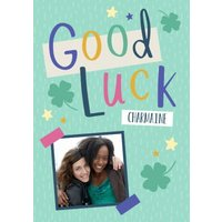 Good Luck Clova Photo Upload Card, Standard Size By Moonpig