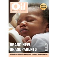 New Grandparents Photo Upload Spoof Magazine Card , Giant Size By Moonpig