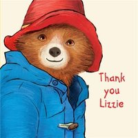 Paddington Personalisation Card, Large Square Card Size By Moonpig