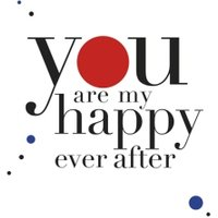 You Are My Happy Ever After Card, Square Card Size By Moonpig
