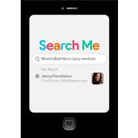 PG Quips Online Search World's Best Mum Photo Upload Card, Large Size By Moonpig