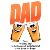 Dad Your Special Day Is Here Card, Standard Size By Moonpig