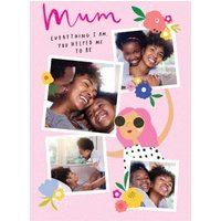 Mum Everything I Am You Helped Me To Be Just A Note Card, Giant Size By Moonpig