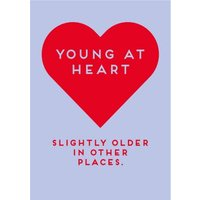 Paperlink Young At Heart Card, Giant Size By Moonpig