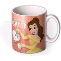 Disney Beauty And The Beast Daughter Mug by Moonpig, Gift Set - Delivery Available