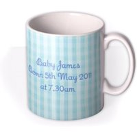 Baby Boy Photo Upload Mug by Moonpig, Gift Set - Delivery Available