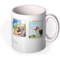 4 Photo Upload Mug by Moonpig, Gift Set - Delivery Available
