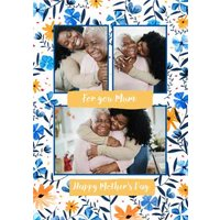 For You Mum Happy Mothers Day Photo Upload Card, Giant Size By Moonpig