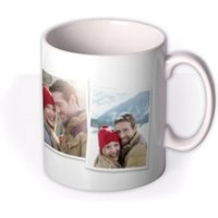 Cut Out Photo Upload Christmas Mug by Moonpig, Gift Set - Delivery Available