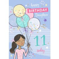 Raspberry Fizz Character Illustration Personalised Age Birthday Card, Standard Size By Moonpig