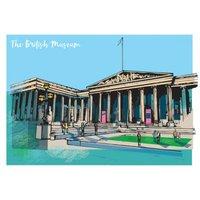 London Landmark The British Museum Birthday Card, Large Size By Moonpig