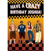Sega Crazy Taxi Have A Birthday Card, Large Size By Moonpig