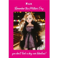 Danilo Sindy You Don't Look A Day Over Fabulous Mum Mother's Card, Large Size By Moonpig