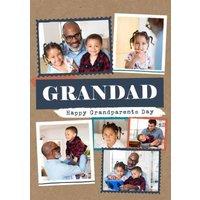 Modern Photo Upload Collage Grandparents Day Design, Standard Size By Moonpig