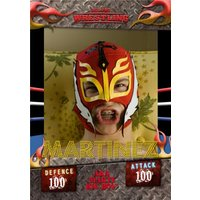 'Wrestling Sports All Stars Photo Card, Standard Size By Moonpig