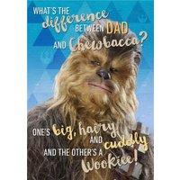Star Wars Chewbacca Personalised Card