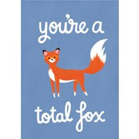 Fox Funny Cool Cute Card, Giant Size By Moonpig