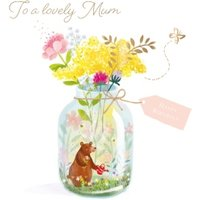 To A Lovely Mum, Large Square Card Size By Moonpig