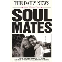 The Daily News Soulmates Headline Photo Upload Card, Standard Size By Moonpig