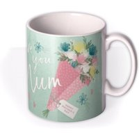 Mother's Day Mug by Moonpig - Love You Mum Photo Upload Gift Set By Delivery Available