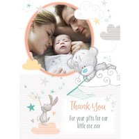 Tatty Teddy Thank You For Our New Baby Gifts Card, Standard Size By Moonpig