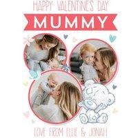 Me To You Tiny Tatty Teddy Happy Valentines Mummy Photo Upload Card , Standard Size By Moonpig