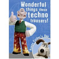 Wallace And Gromit Father's Day Card, Giant Size By Moonpig