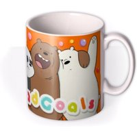 We Bare Bears Sqaud Goals Photo Upload Mug by Moonpig, Gift Set - Delivery Available