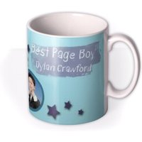 The Best Page Boy Photo Upload Mug by Moonpig, Gift Set - Delivery Available