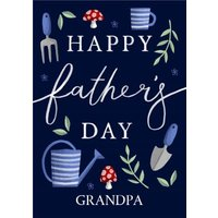 Gardening Father's Day Card For Grandpa, Standard Size By Moonpig