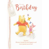 Winnie The Pooh Birthday Card - Disney, Giant Size By Moonpig