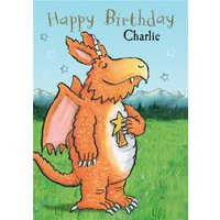 Zog Birthday Card, Giant Size By Moonpig