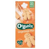 Organix organic goodies 15 gingerbread men