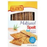 Suzie's spelt multiseed flatbreads