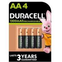 Duracell Rechargeable Duralock AA Battery 1300mAh NiMH