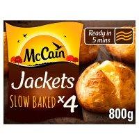 McCain 4 ready baked jackets at Waitrose & Partners