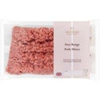 Waitrose 1 British free range lean pork mince