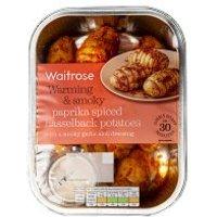Waitrose Paprika Spiced Hasselback Potatoes