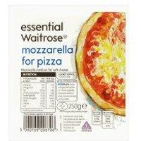 essential Waitrose Mozzarella cheese for pizza